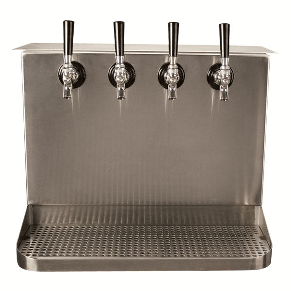 Under Bar Dispensing Cabinet - Glycol Cooled - 4  304 Faucets