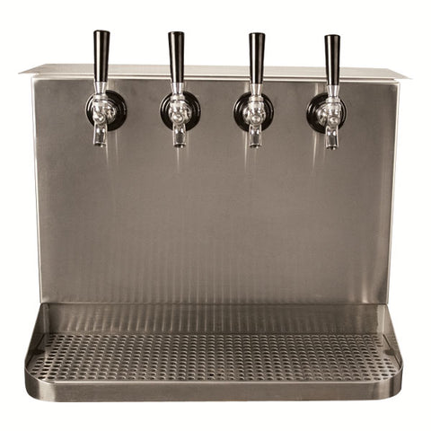 Image of Under Bar Dispensing Cabinet - Glycol Cooled - 4  304 Faucets