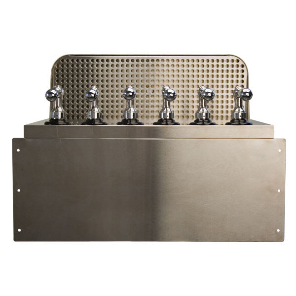 Under Bar Dispensing Cabinet - Glycol Cooled - 6 304 Faucets