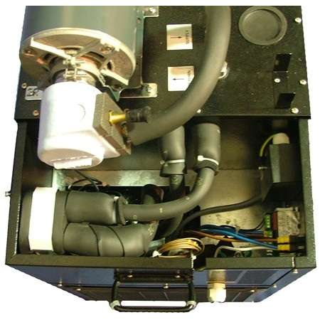 UBC LCB3500 / LG3500 cold plate glycol power pack, inside view