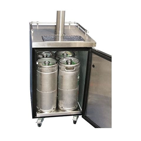 Dual Tap Commercial Grade Kegerator - Full Size KM-1/5CT2