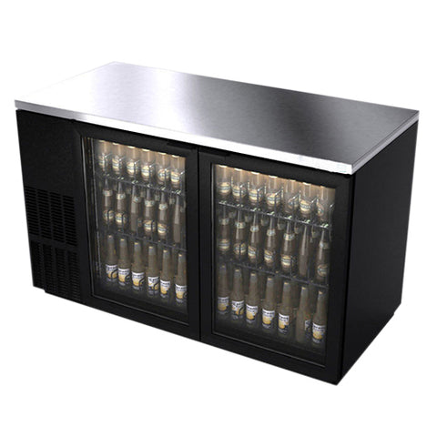 underbar cooler glass doors