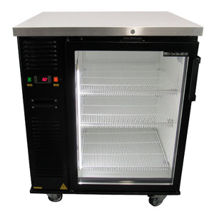 underbar beer cooler single door display
