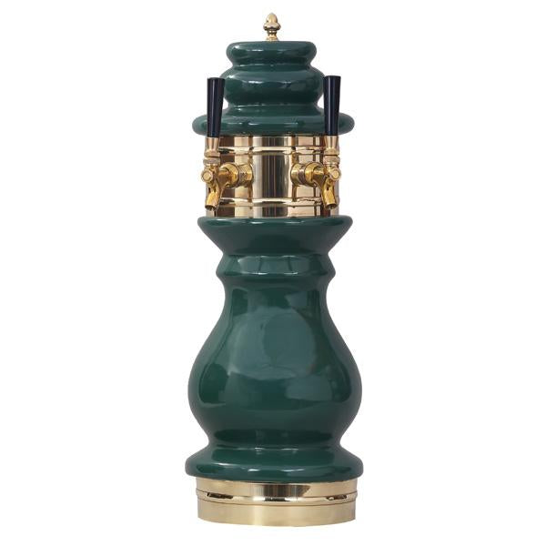 Braumeister Ceramic Tower, 2 Faucet