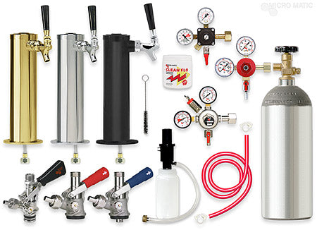 Image of DIY Build Your Own - Single Tower Kegerator Conversion Kit