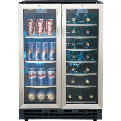 "Danby Emmental DBC2760BLS 24"" Wine/Beverage Cooler"