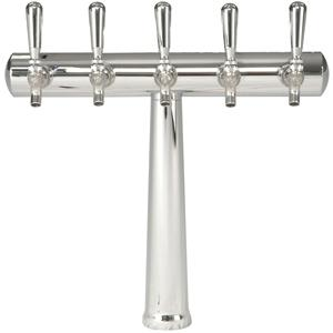 Image of Havana Tower - 5 Faucets - Chrome Finish - Glycol Cooled