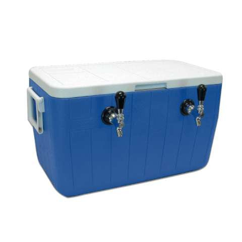 Jockey Box Picnic Beer Cooler - 2 Kegs - 48Qt.