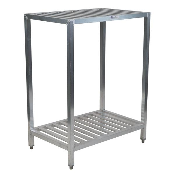 "Large 48"" Power Pack Rack, Aluminum"
