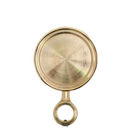 Medallion holder, Gold, Standard type