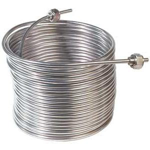 Stainless Steel Cooling Coil, 50' x 5/16""