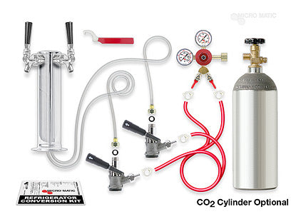Standard - 2-tap Tower Kegerator Conversion Kit