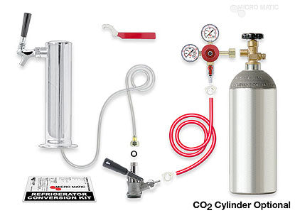 Standard - Single Tower Kegerator Conversion Kit