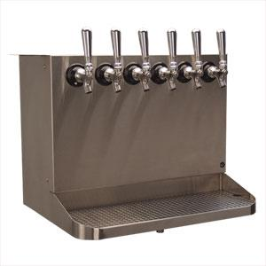 Image of Under Bar Dispensing Cabinet - Glycol Cooled - 6 304 Faucets