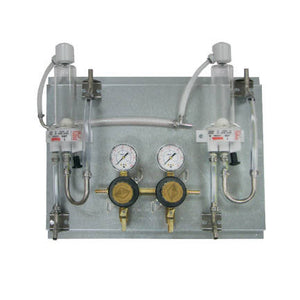 Wall panel with 2-4 secondary regulators and FOBs