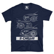 S-Chassis Generations Logo Tee (Black/Navy)
