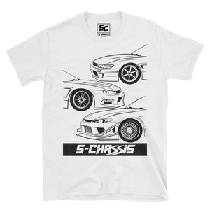 S-Chassis Generations Logo Tee (White)