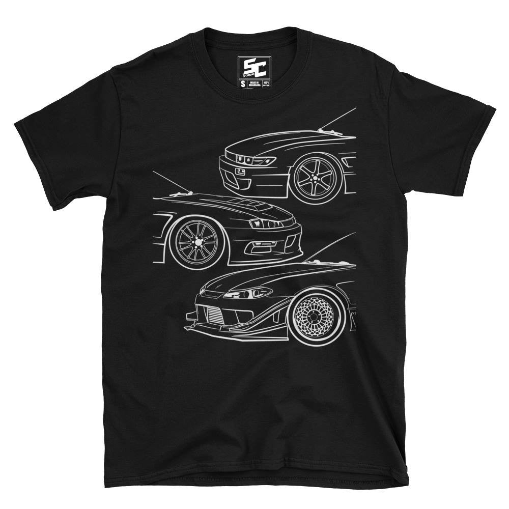 S-Chassis Generations Tee (Black/Navy)