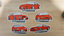 Team Red S15 Silvia diecut Sticker