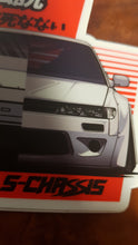 S13 Split View Die Cut Stickers