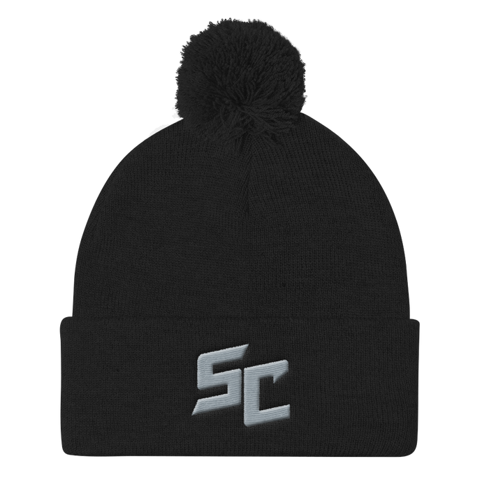 Official S-Chassis Pom Pom Knit Beanie