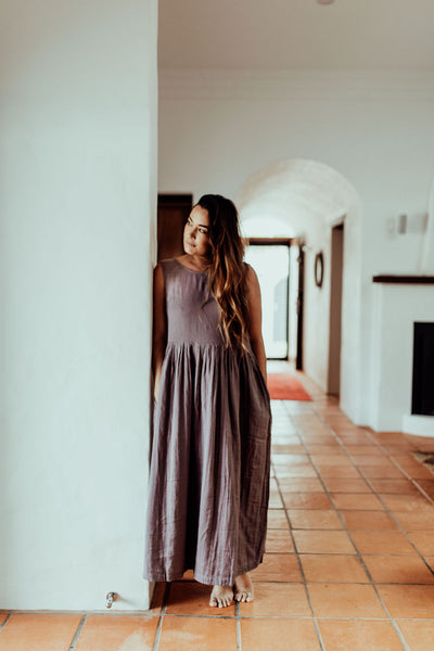 Nadi Dress ~ Mauve