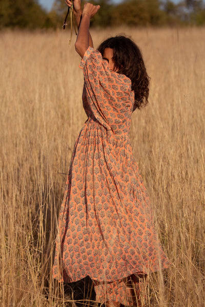 Kyra Midi Dress ~ Himalayan Salt