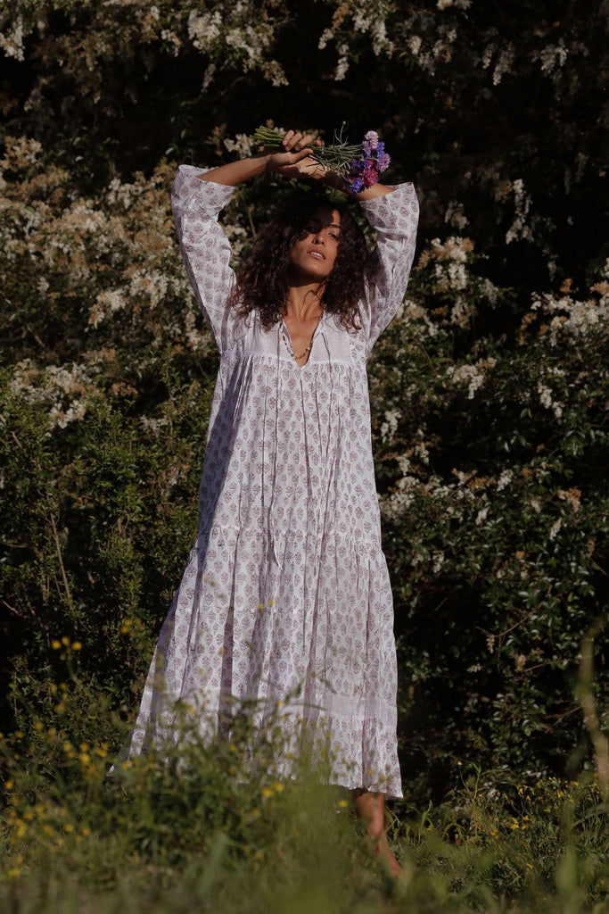 Jasmit Dress ~ Lavender