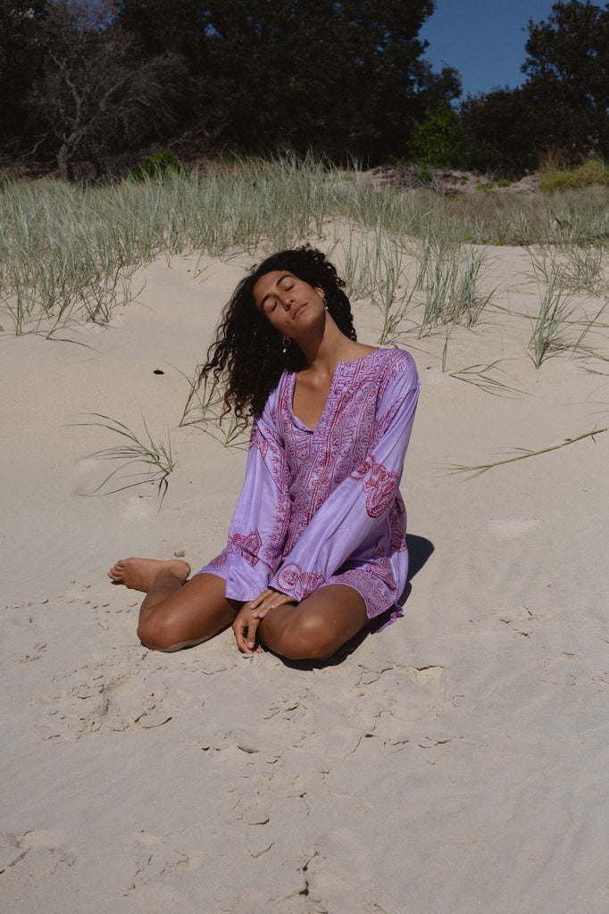 Goa Tunic ~ Purple