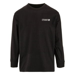 Straight Up Crested Longsleeve - Long Sleeve - Straight Up Apparel - Straight Up Apparel