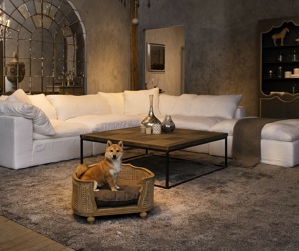 Arthur Luxury Dog Bed by Lord Lou