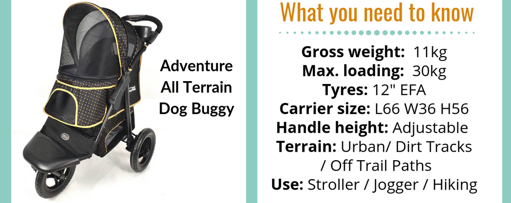 Adventure Dog Stroller by Innopet