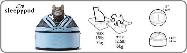 Sleepypod pet weight allowance