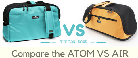 Compare the Sleepypod Air VS Sleepypod Atom