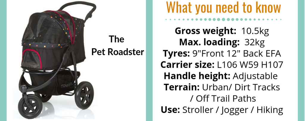 Pet Roadster Dog Stroller