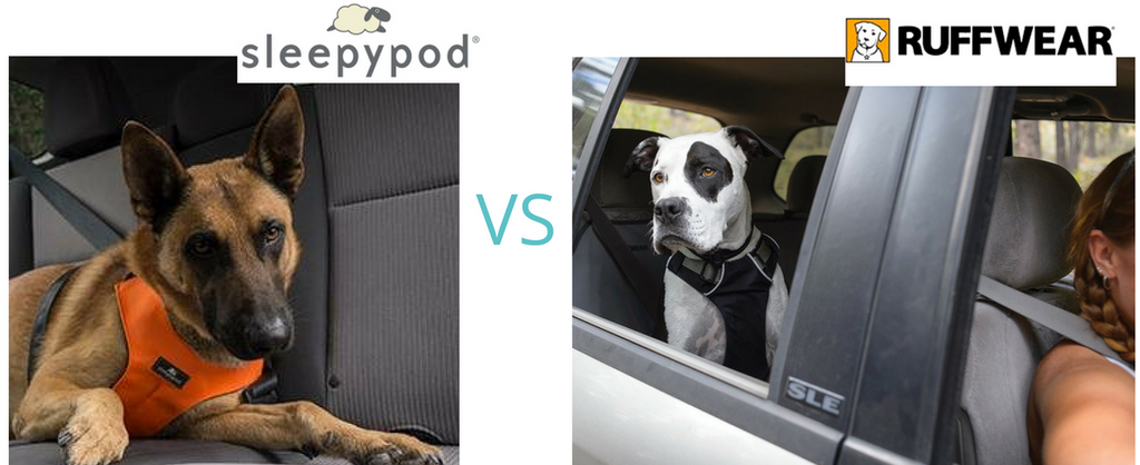 Sleepypod Clickit Sport VS Ruffwear Load UP