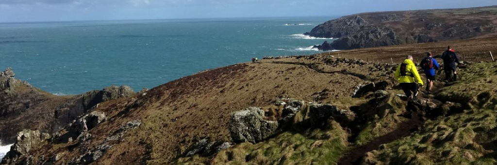 Hiking South West Coast Path