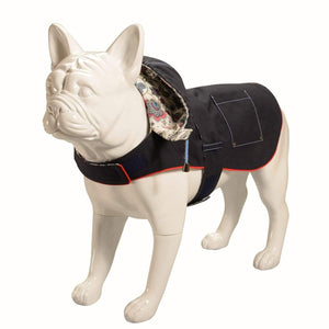 Baker & Bray Dog Apparel Small Baker & Bray | Hampstead Dog Hoodie | Navy/Liberty Mabelle BB-11-04-03-S PetsOwnUs - Pets Own Us
