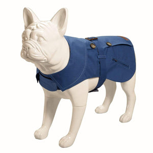 Baker & Bray Dog Apparel X-Small Baker & Bray | Kensington Trench Royal Blue/Liberty Karm BB-11-02-05-XS PetsOwnUs - Pets Own Us