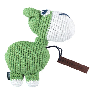 Baker & Bray Dog Toy One Size Baker & Bray | Knitted Donkey Squeaky Dog Toy | Green BB-90-04-01 PetsOwnUs - Pets Own Us