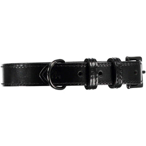 Baker & Bray Dog Apparel X-Small Camden Dog Collar and Lead Set by Baker & Bray - Black BB-41-01-07-XS & BB-52-01-10 PetsOwnUs - Pets Own Us