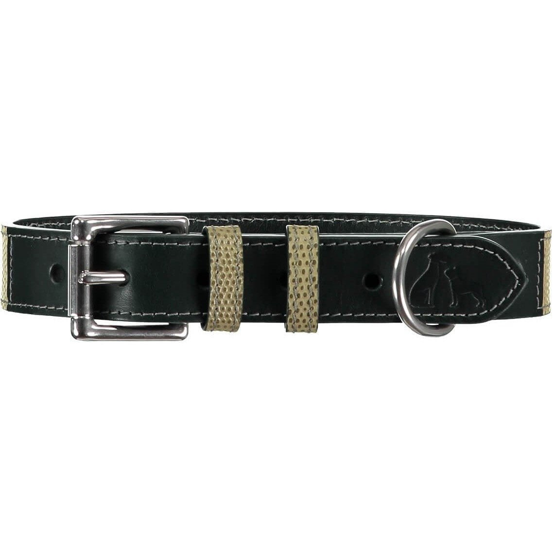 Baker & Bray Dog Apparel X-Small Chelsea Dog Collar by Baker & Bray - Musgo/Green -XS PetsOwnUs - Pets Own Us