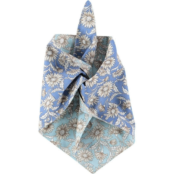 Baker & Bray Dog Apparel Large Daisy Dog Bandana by Baker & Bray - Sky Blue PetsOwnUs - Pets Own Us