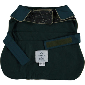 Baker & Bray Dog Apparel X Small Hampton Raincoat by Baker & Bray - Dark Green/Bottle PetsOwnUs - Pets Own Us