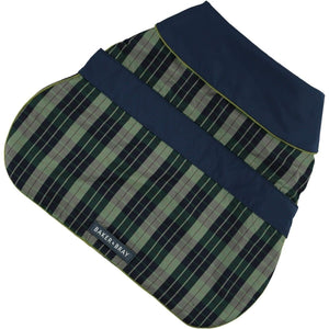 Baker & Bray Dog Apparel X Small Hampton Raincoat by Baker & Bray - Light Green/Blue PetsOwnUs - Pets Own Us