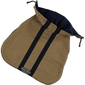 Baker & Bray Dog Apparel X Small Highgate Water Repellent Hoodie by Baker & Bray - Camel/Navy BB-11-03-03-XS PetsOwnUs - Pets Own Us