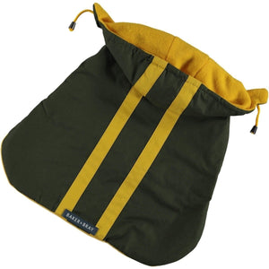 Baker & Bray Dog Apparel X Small Highgate Water Repellent Hoodie by Baker & Bray - Olive/Yellow BB-11-03-05-XS PetsOwnUs - Pets Own Us