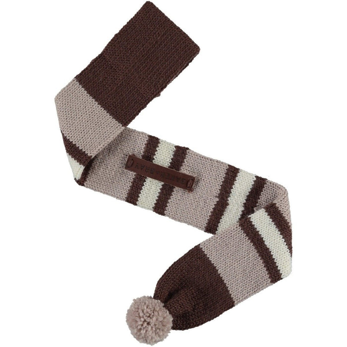 Knitted Argyle Dog Scarf by Baker & Bray - Cappuccino