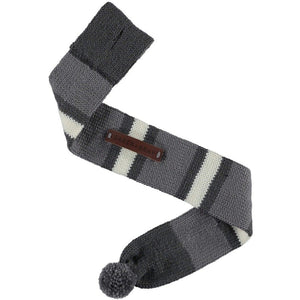 Baker & Bray Dog Apparel Medium Knitted Argyle Dog Scarf by Baker & Bray - Graphite BB-55-01-04-M PetsOwnUs - Pets Own Us