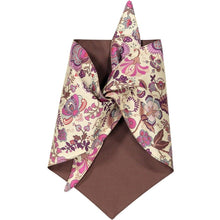 Baker & Bray Dog Apparel Large Mabelle Dog Bandana by Baker & Bray - Pink/Brown PetsOwnUs - Pets Own Us